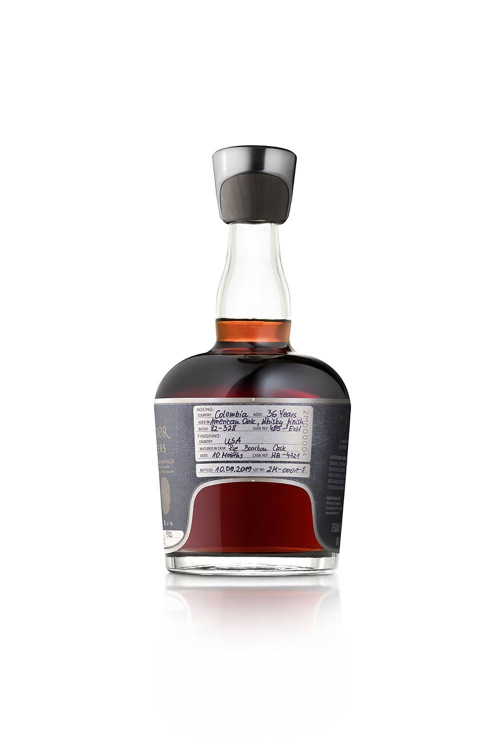 Rum Dictador 2 Masters Hardy Summer Blend 1976 and 1978