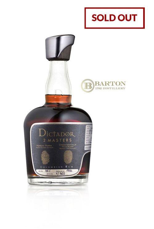 Dictador 2 Masters, Barton - Wheated Bourbon Cask