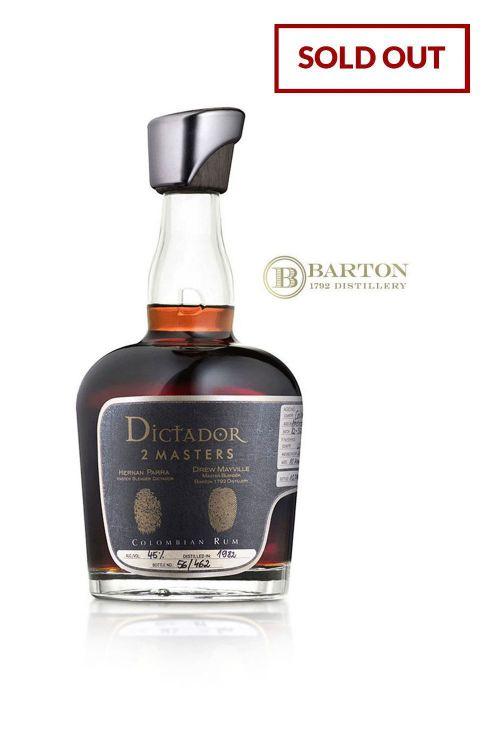 Dictador 2 Masters, Barton - Rye Bourbon Cask