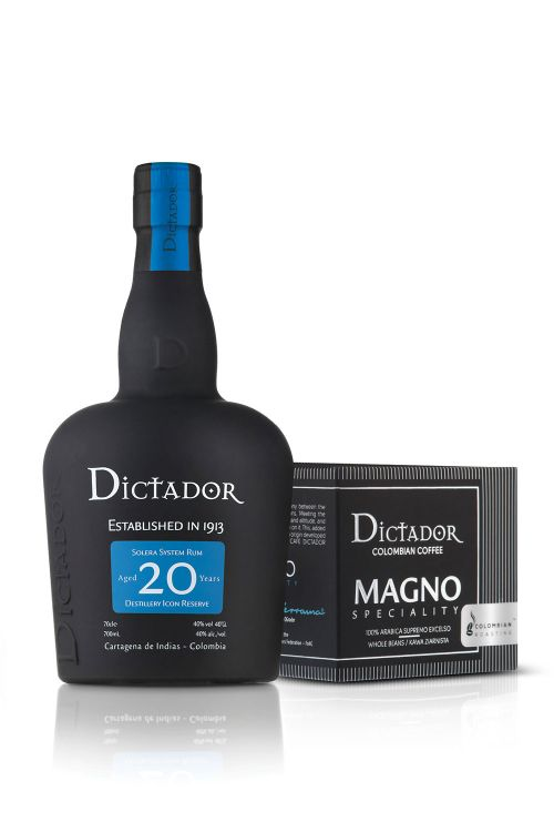 20 Years Rum + MAGNO COFFEE