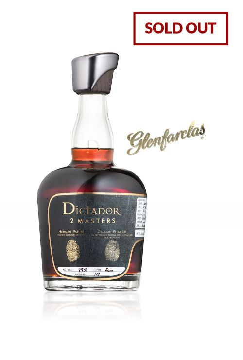 Dictador 2 Masters Glenfarclas 1972 - SOLD OUT